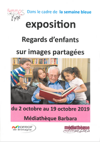 2019 10 exposition semaine bleue